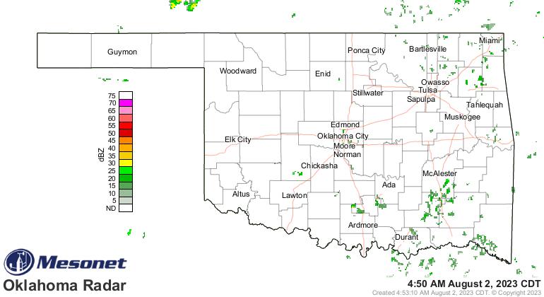 Oklahoma Radar