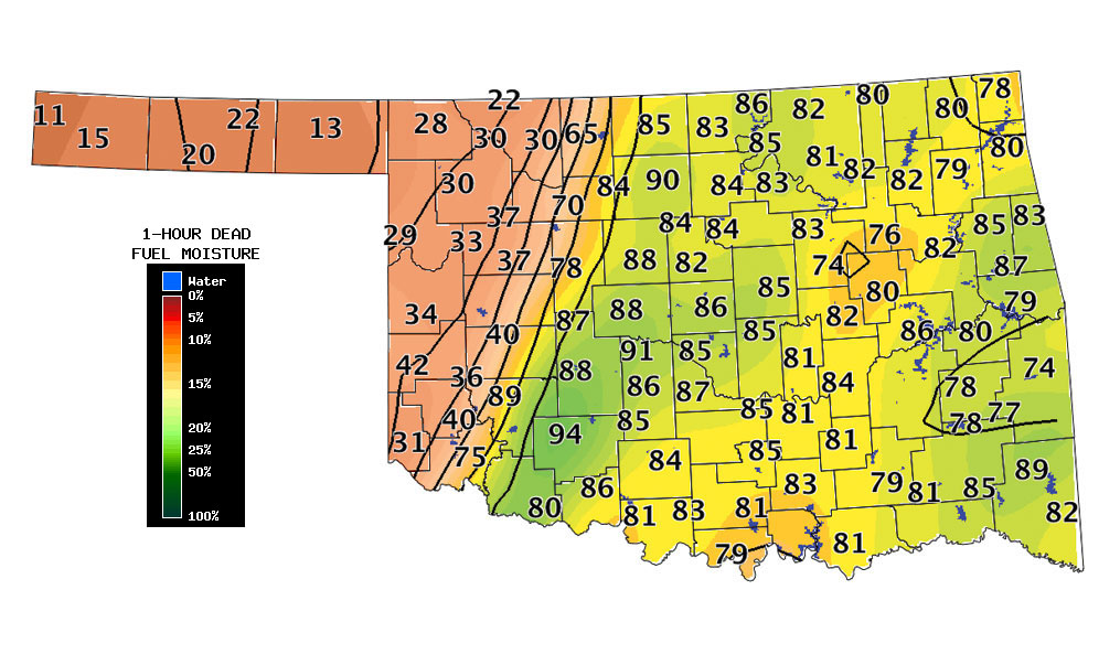 Oklahoma Weather Map Oklahoma Weather Map | Bedroom 2018